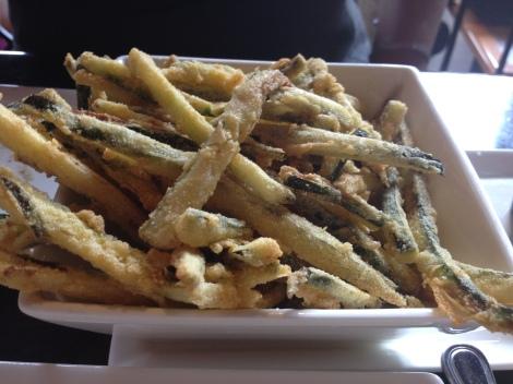 Zucchini Fries with horseradish cream sauce courtesy of The Pub at Wegmans.
