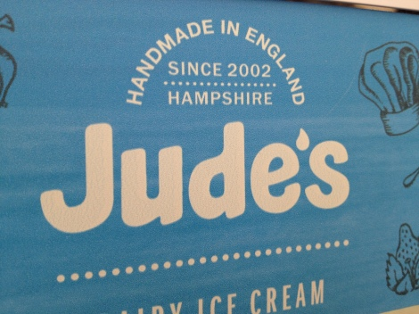 Yummy American-like Ice Cream in England!