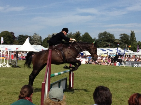 Ladies demonstrating jumping/hunting sidesaddle. Downton Abbey pride!