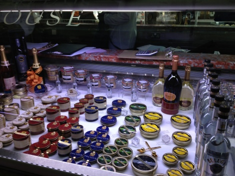 Caviar at Harrod's