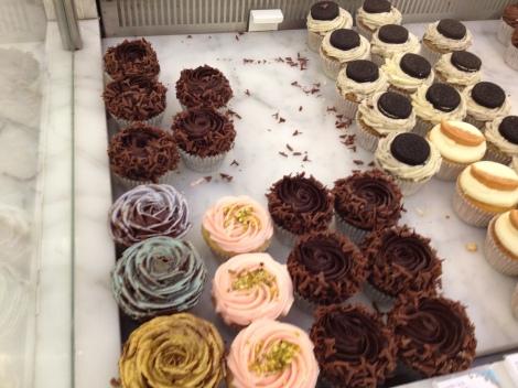 Cupcakes at Harrods.