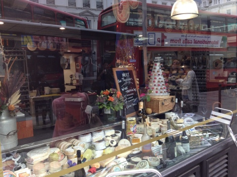 Cheese Shop in London.
