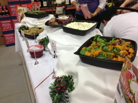 Various sides and catering options for the holidays thanks to Wegmans.