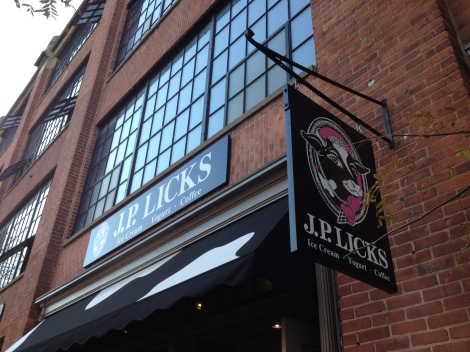 J. P. Licks is an ice cream maker, coffee roaster and institution in Boston and its surrounding communities.