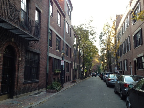 A typical residential area of Beacon Hill