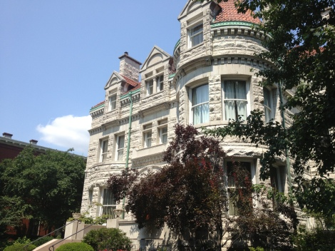 Just another private residence of the Central West End, which included many homes built for the 1904 World Fair.