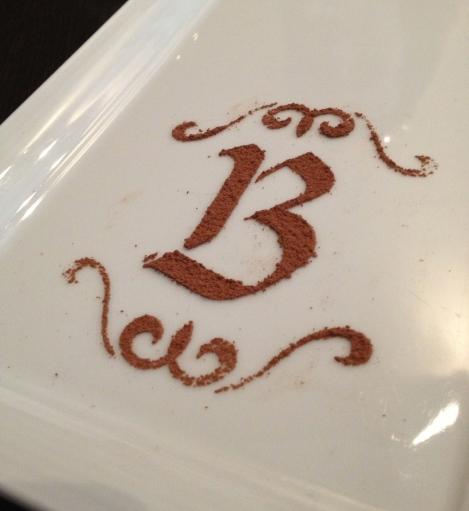 Bissinger's signature cocoa logo.