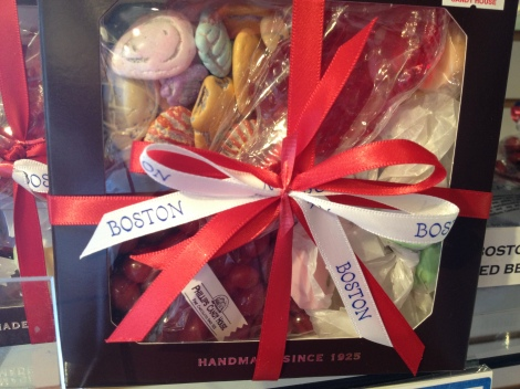 Boston strong! Lots of gift packages honoring just that, or a great moment from your visit.