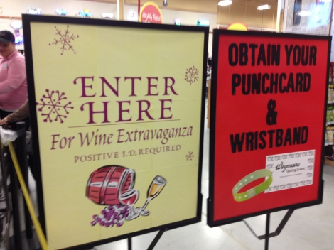 Reason #7 Wegmans Rocks- They have these crazy awesome events showcasing beverages, entertaining and food.