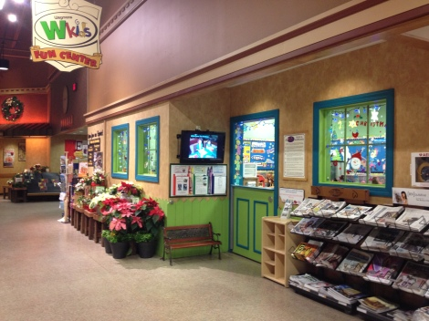 Reason #2 Wegmans Rocks- They have child care centers for your little buckaroos. That means blissful shopping ahead!