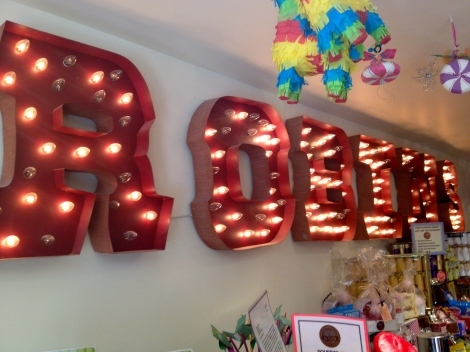 Robin's Candy Shop, hosting a very eclectic and diverse selection of chocolate, confections and goodies.