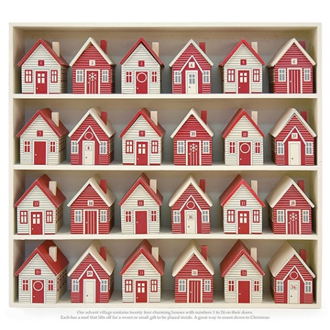 Advent calendar from Fancy Flours to fill with sweets and treats of your own.
