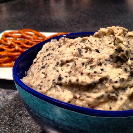 Everything Bagel Hummus is an entertainers go to party appetizer.