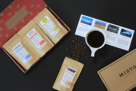 Mistobox is the gift of coffee that lasts the entire year!